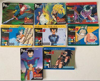 Dragonball Z Normal Cards