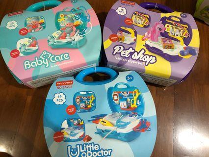 Children roleplay toyset