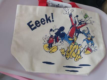 東京迪士尼買 米奇手提袋