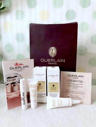 GUERLAIN Abeille Royale Eye Cream, Night Cream Tester & Foundation, Perfume Tester