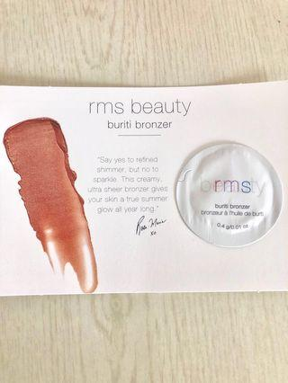 🚚 RMS beauty Bronzer sample card