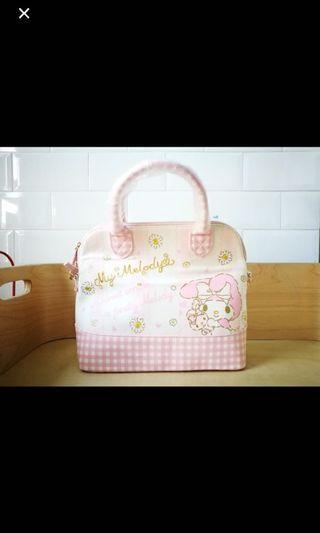 🚚 #juneholiday30 Original Sanrio My melody large handbag