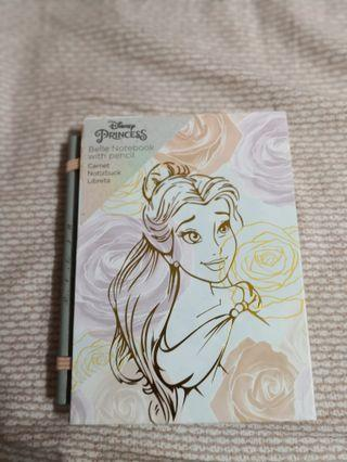 Beauty and the Beast Note Book (with pencil) 美女與野獸記事簿連鉛筆