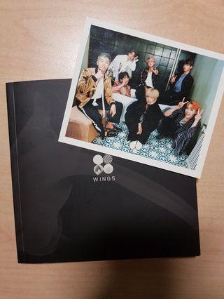 [WTS] BTS WINGS GROUP ALBUM + PC
