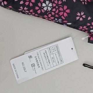 Sakura print umbrella from Japan - black