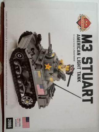 Brick mania tank as shown