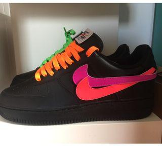Nike Air Force 1 swoosh pack (not off white, not sacai, not supreme, not yeezy)
