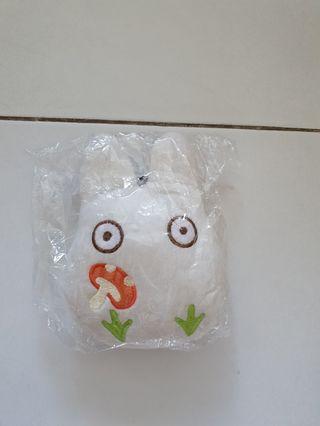 Totoro series white chibi ez link card holder cum purse