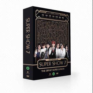 Super Junior - Super Show 7 DVD