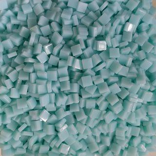 🚚 Aqua Blue Craft Resin Acrylic Mosaic Tiles Small (5mm x 5mm x 2mm)