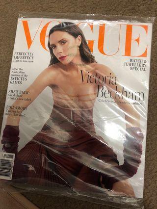 Brand new Vogue magazine Nov18