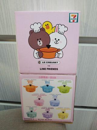 le creuset × line friend 花形鍋