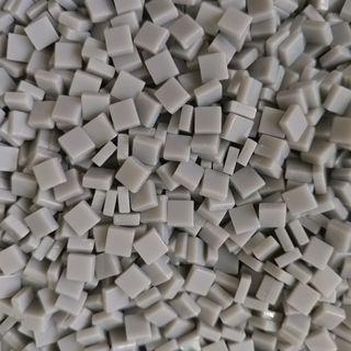 🚚 Light Grey Craft Resin Acrylic Mosaic Tiles Small (5mm x 5mm x 2mm)