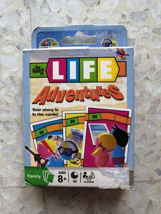 The game of life cards
