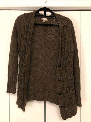 Forever 21 brown cardigan