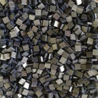 🚚 Black Sparkle Glitter Resin Acrylic Mosaic Tiles Small ( 5mm x 5mm x 2mm)