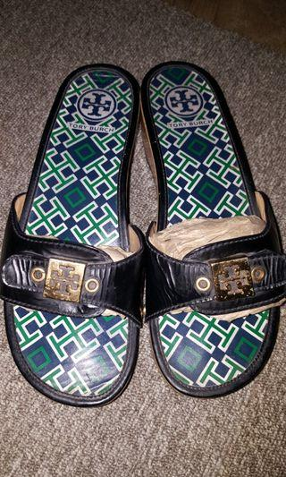 Tory Burch Slip On Sandals Authentic