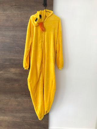 Onesie Yellow Duck / Chick in size L 170cm