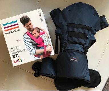 🚚 韓國sorbebe 嬰兒腰凳背帶 揹帶