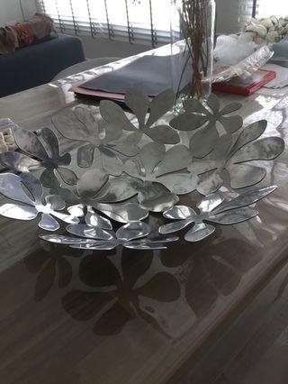 Designer stainless steel bowl