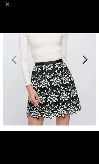 LB crochet top and skirt