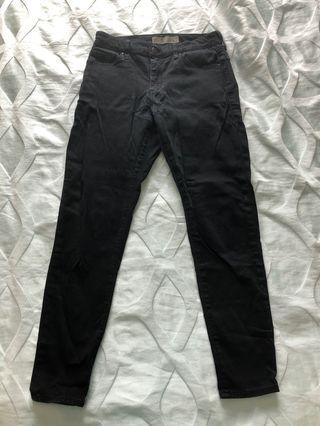 Topshop Black Leigh Jeans