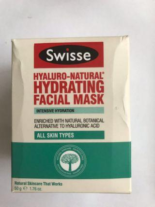 Swisse hydrating facial mask 補水面膜