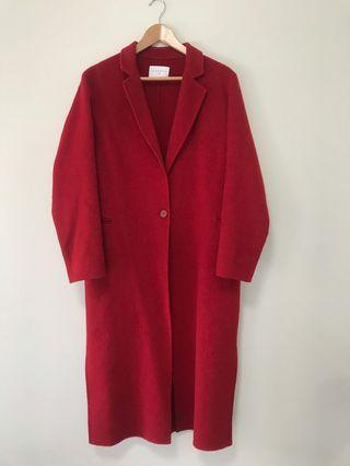 Sandro Paris Wool Coat
