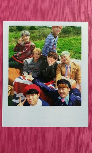 WTB BTS YOUNG FOREVER OFFICIAL GROUP PHOTOCARD