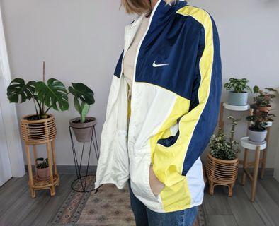 Vintage Nike jacket yellow navy