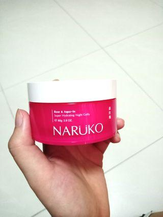 Naruko Rose & Aqua-In Hydrating Night Jelly