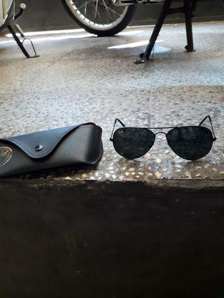 Sunglasses rayban aviator rb 3205