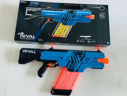 Nerf Precision Battling Gun (Used Once) Blue