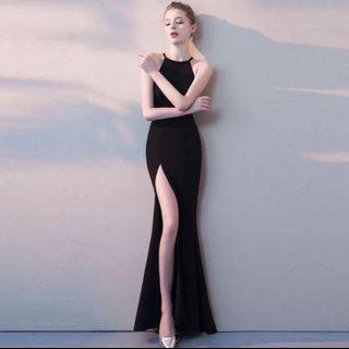 [IN STOCK] Sexy Black Maxi Dress