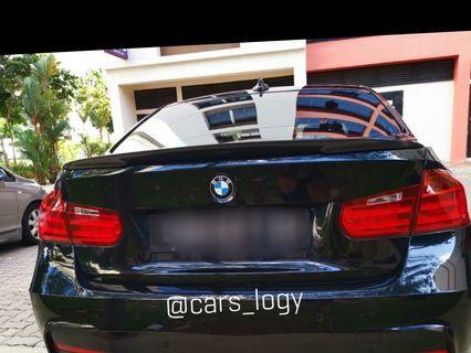 🚚 BMW F30 Carbon Fiber Spoiler.