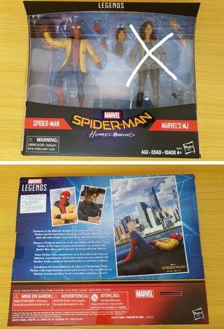 放全新Marvel legends Spider man 連盒 $200不連MJ,(多谷)