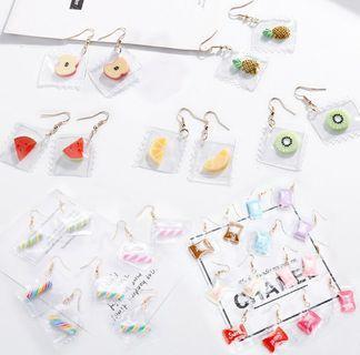 PREORDER korean ulzzang earrings