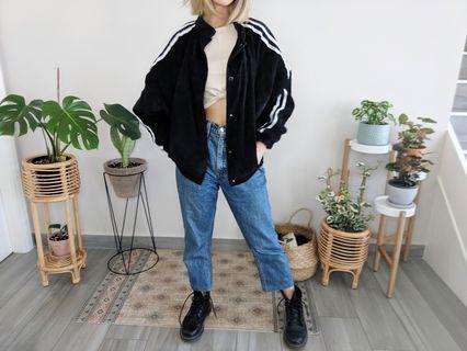 Black and white Corduroy jacket