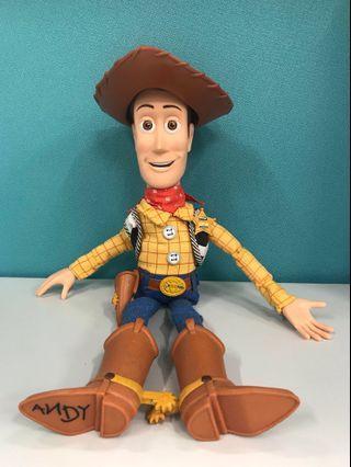 <反斗奇兵 Toy Story> Woody 胡迪 可發聲