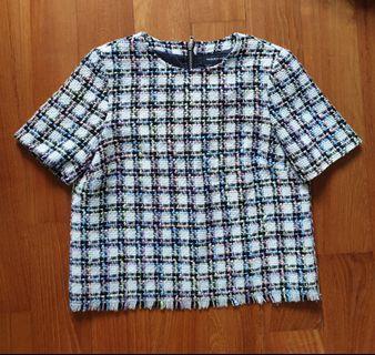 🚚 Checkered Top