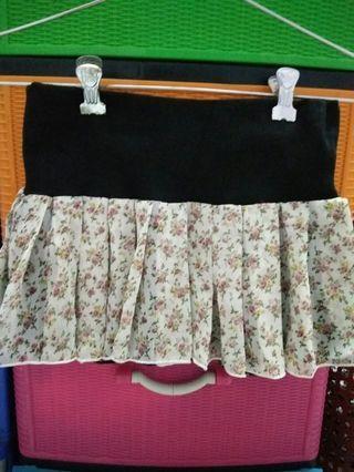 两穿短裙 two patterns skirt