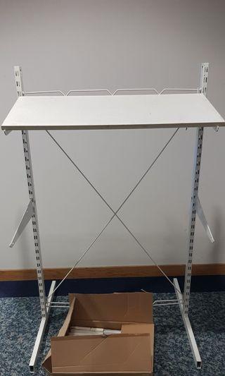 Retail 3 tier shelving rack