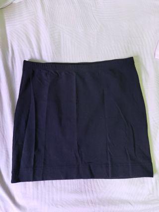 H&M basics mini bandage skirt