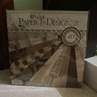 "8""x 8"" Paper Pads 復古手工紙"