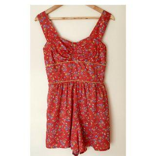 LOTTIE & HOLLY Band of Gypsies playsuit romper jumpsuit Size 8