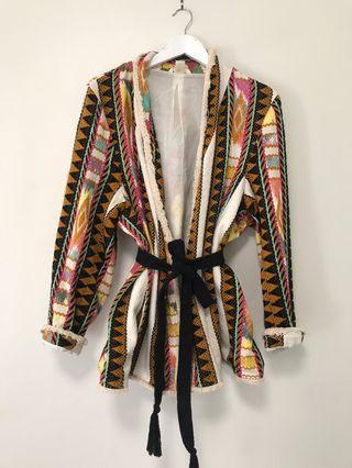 Aztec Kimono-Blazer