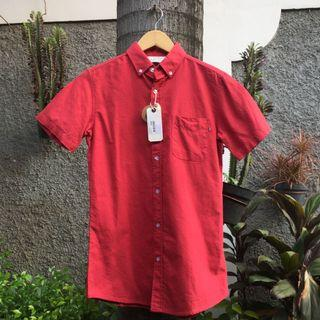 KEMEJA OXFORD BUTTONDOWN SHIRT COTTON ON ORIGINAL