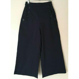PRINCESS HIGHWAY navy high waist cullottes Size 6 Like New
