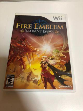 Fire Emblem Radiant Dawn for the Wii