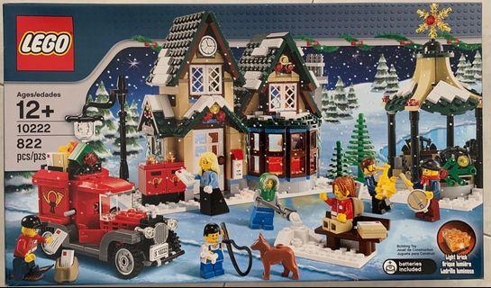 🚚 10222 Winter Village Post Office